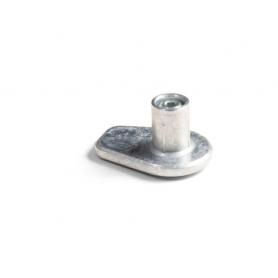 Piedino GIOTTO diametro 15 x h 20 mm grezzo