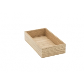 Accessorio Box interno cassetto Rovere 15x27,2x6,2 cm
