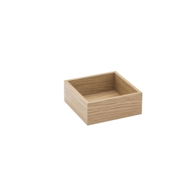 Accessorio Box interno cassetto Rovere 15x15x6,2 cm