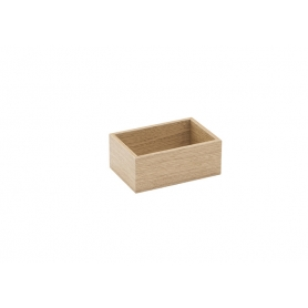 Accessorio Box interno cassetto Rovere 15x10x6,2 cm
