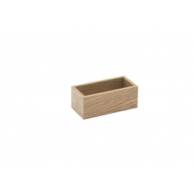 Accessorio Box interno cassetto Rovere 15x7,2x6,2 cm