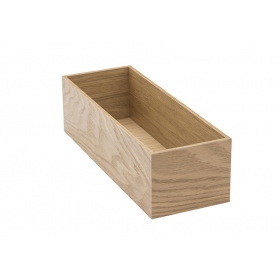 Accessorio Box interno cassetto Rovere 15x42,2x15 cm