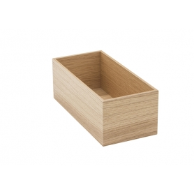 Accessorio Box interno cassetto Rovere 15x32,2x15 cm
