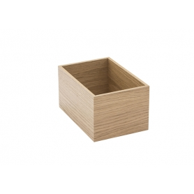 Accessorio Box interno cassetto Rovere 15x22,2x15 cm