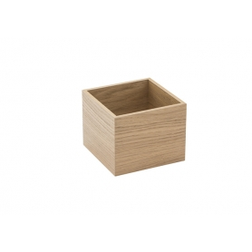 Accessorio Box interno cassetto Rovere 15x15x15 cm