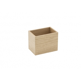 Accessorio Box interno cassetto Rovere 15x10x15 cm