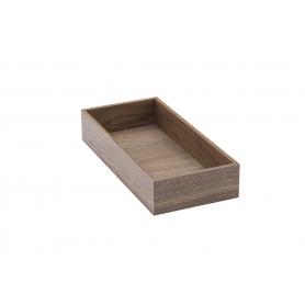 Accessorio Box interno cassetto Noce 15x32,2x6,2 cm