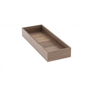 Accessorio Box interno cassetto Noce 15x42,2x6,2 cm