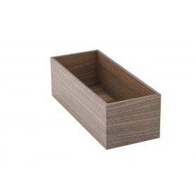 Accessorio Box interno cassetto Noce 15x37,2x15 cm