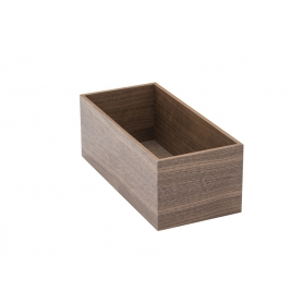 Accessorio Box interno cassetto Noce 15x32,2x15 cm
