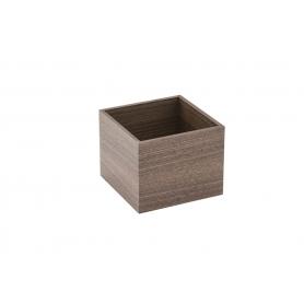 Accessorio Box interno cassetto Noce 15x15x15 cm