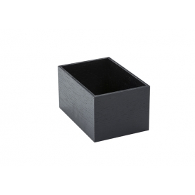 Accessorio Box interno cassetto Nero 15x22,2x15 cm