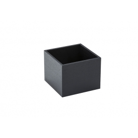 Accessorio Box interno cassetto Nero 15x15x15 cm