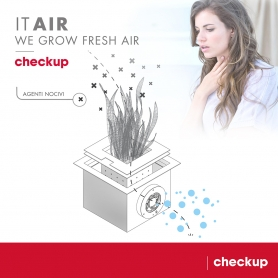 Purificatore d'aria Integrato IOT ITAIR Checkup - Covid19