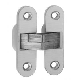 Cerniera invisibile in nylon ed acciaio inox 89x25 mm.