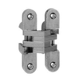 Cerniere invisibili serie 831 bronzate 116,5x25,8 mm.