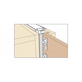 Kit copertura frontale 2600 mm grigio EXEDRA