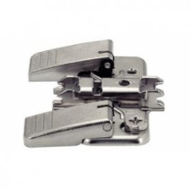 174H7130I - Base CLIP H.3 INSERTA acciaio aggancio rapido a croce