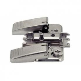 174H7100I - Base clip aggancio rapido acciaio forma a croce