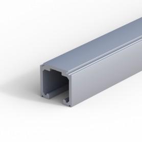 Binario superiore singolo 120 Kg. 0500/10 argento MM.3000