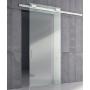 Trave a muro ARIA 12mm in alluminio con asole mm.6000