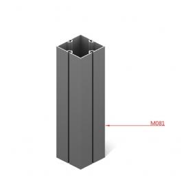 """Profilo Quadro """"SKUDO"""" 4 Vie 80x80mm - in barra 6050 mm - Covid19"""