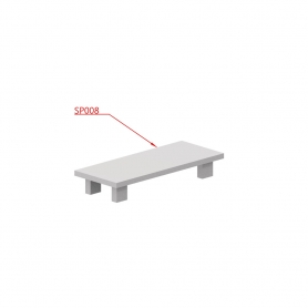 """Tappo plastica per Z041 40x16mm """"SKUDO"""" - Covid19"""