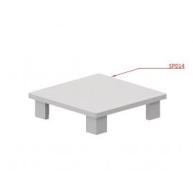 """Tappo plastica per Z041 40x40mm """"SKUDO"""" - Covid19"""