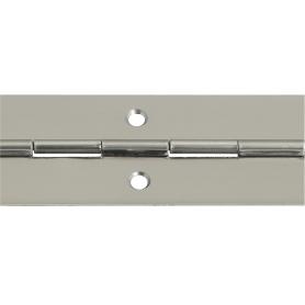 Cerniera a metro acciaio inox 32 x 0.7 barra 3,5 mt.