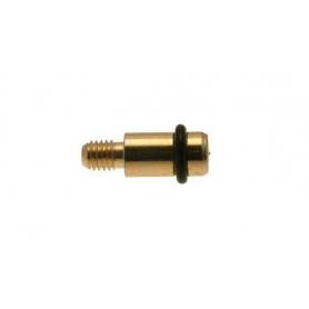 Reggipiano m 5x7x20 mm. ottonato con o-ring 82220