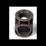 Barilotto senza bordo diametro 14 mm. SL18 brunito