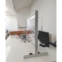 Parete Divisoria H.80x120 cm Protettiva Trasparente Autoportante - Covid19
