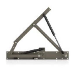 Meccanismo FOR ALL 740/1100N C/trav. per rete singola 730-1260 mm