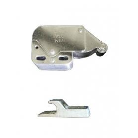 Chiusura MINILATCH con rullo e contropiastra in acciaio