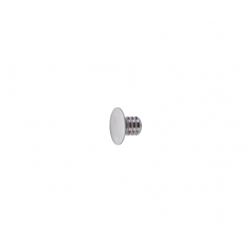 Contropiastra per magnetico nichelata diametro 15 x 8,5 mm.