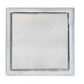 Maniglia quadra cromo lucido