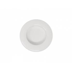 Maniglia incasso MINNI diametro 48 mm. foro 40 mm. nylon bianco