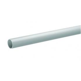 Tubo tondo diametro 25 x 1,2 x 3000 mm. bianco