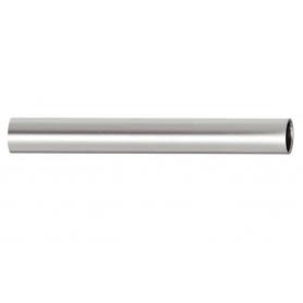 Tubo tondo diametro 25 x 1,5 x 3000 mm. cromo opaco