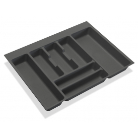 Portaposate 800 mm grigio antracite