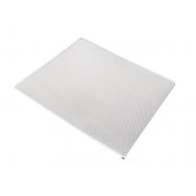 Fondo in alluminio per sottolavello mm.450