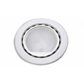 Faretto alogeno microvetro 20W alluminio