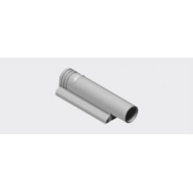 970.1201 - Piastra di fissaggio diritta con premontaggio grigia