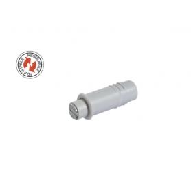 Magnetico regolabile incasso diametro 10x26 mm. grigio
