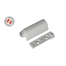 Magnetico regolabile da applicare bianco