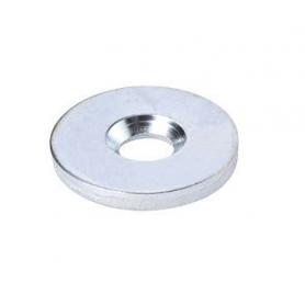 Rondella zincata diametro 15 mm. con foro per magnetico