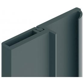 Profilo di battuta 5 mm nero 2,75 mt