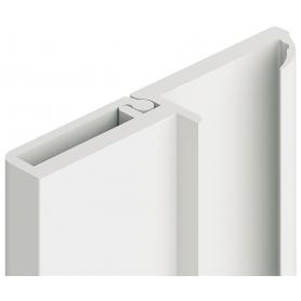 Profilo di battuta 5 mm. bianco 2,5 mt.