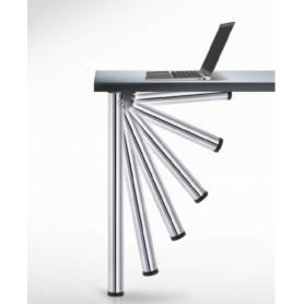 Gamba pieghevole diametro 50 mm. 700-730 mm. alluminio MILLERIGHE