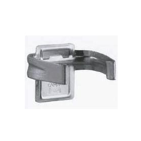 Gancio portazoccolo acciaio zincato